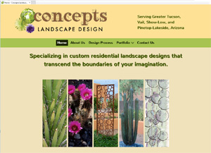 Concepts Landscape Design